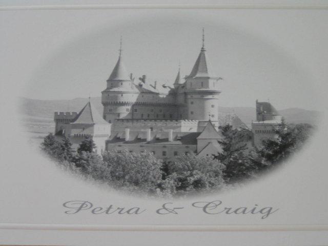 Wedding Royale - nasa pozvanka - samovyroba