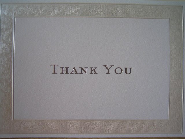 Wedding Royale - vybrali sme tieto dakovne karty s peknym elegantnym lemovanim