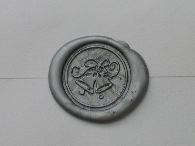 Wedding Royale - detail voskom zapecatenej obalky s pozvankou