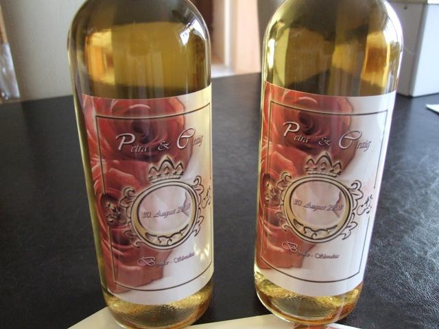 Wedding Royale - nase kralovske vysluzkove vino :)