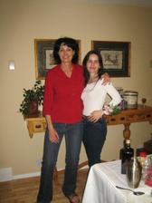 Dr. Maria, ktora nam spravila perfektnu party (na obrazku spolu so mnou)