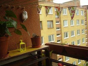 úprava balkóna u babky na byte