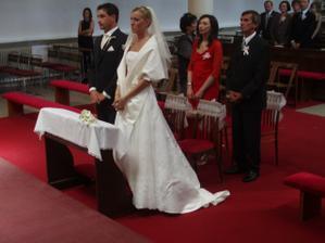 Naši svedkovia....manžel má sestru a ja krstného...