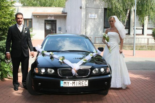 ZLATICA ŚURINOVÁ{{_AND_}}PAOLO VALLI - Naše svadobné autíčko....