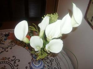 Vysnívaná svadobná kytica....