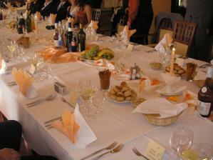 takto krásne nám pripravili stôl