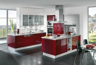 Páči sa mi dizajn skriniek, ale červenú do kuchyne nechcem