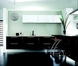 kuchyňa bude čiernobiela, alebo biela-tmavohnedá. Uvidíme čo zoženieme :)
