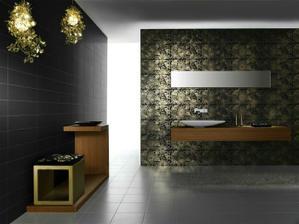 Môj sen :) Kúpeľňa v čierno-zlatej :)