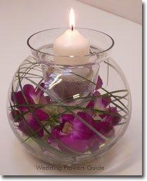 Purple Wedding Dreams..:o) - Sviecky.. kvietky. .kamienky vsetko v skle pripadne vo vode nesmie chybat:))