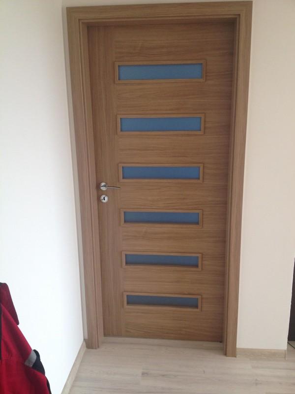 2v1 - Interiérové dvere fóliované Virgo 1 farba brest