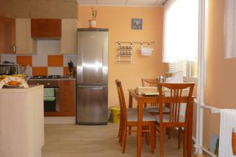 Už hotová kuchyňka.