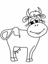 kráva už je načrtnutá