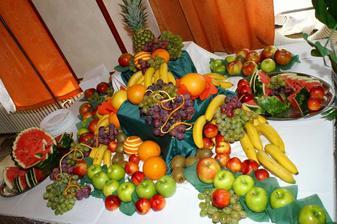 ovocný stolík