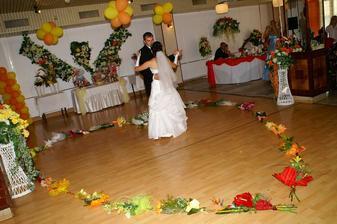 Prvý manželský tanček