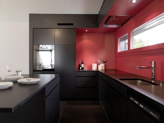 Kuchyně, které mě inspirují..a moje věčné dilema.. - Nebo tatkováto barevnost+ pdac. deska ve dřevě?? Ale asi spíš lesk než mat..