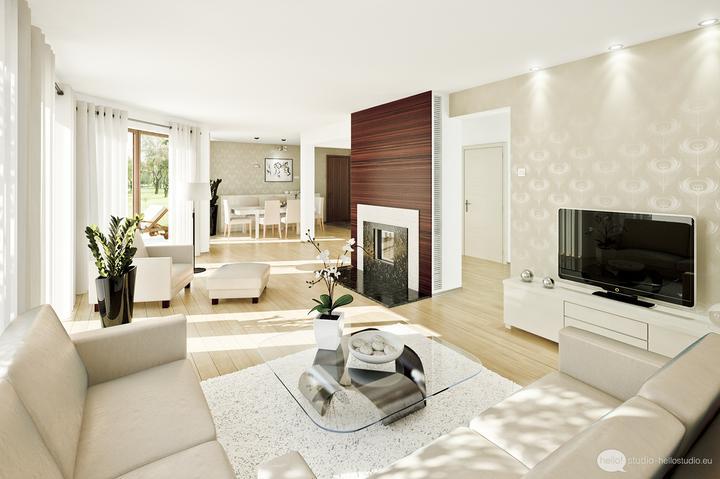 Obývací pokoj s kuchyní a jídelnou - Obrázek č. 22