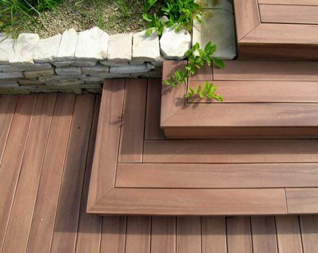 Terasa se schody dol do zahrady album u ivatele amazing foto 28 - Foto terrasse bois ...