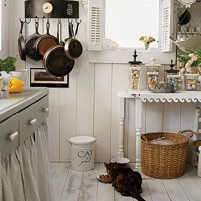 Drevo a biela v kuchyni - Obrázok č. 99