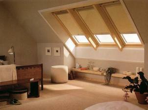 miluju podkroví a střešní okna
