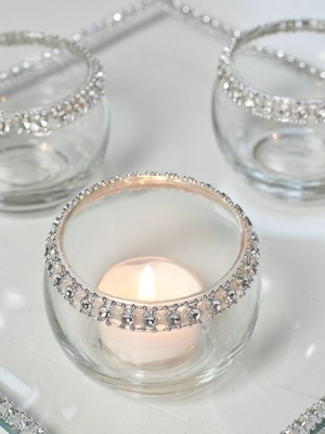 Winter Wedding ideas - Simple tea light wedding diy decorations