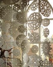 Winter wedding snowflakes