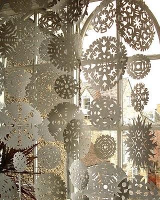 Winter Wedding ideas - Winter wedding snowflakes