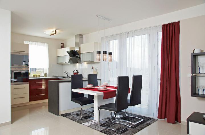 Kuchyně, které mě inspirují..a moje věčné dilema.. - Jídelní stůl bude také u fr. okna..
