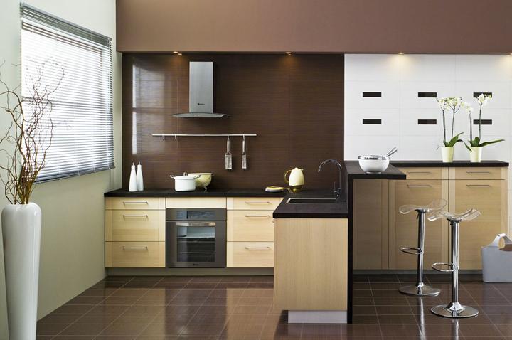 Kuchyně, které mě inspirují..a moje věčné dilema.. - nebo že by tmavá prac. deska?