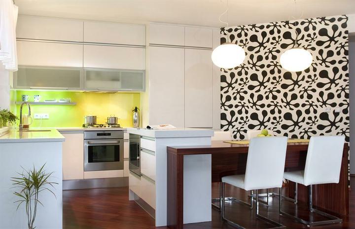 Kuchyně, které mě inspirují..a moje věčné dilema.. - že by ostrůvek a u něj jídelní stůl??