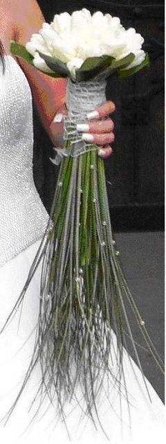 9. 8. 2008 Zuzana a Marián - ...moja krásna tulipánová kytička :o)