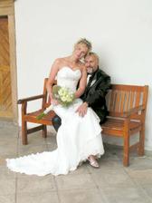 Na lavičce s nevěstou