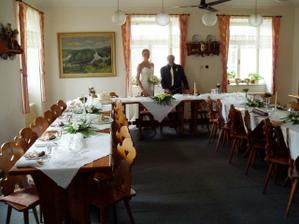Výzdoba stolů
