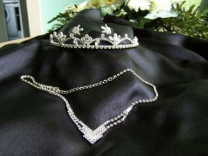 Nevěstiny šperky od Svarowského