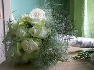 svatební kytice - nádherná.