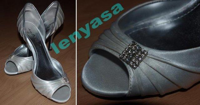 NAŠE MYŠLIENKY... - moje svadobné topánočky