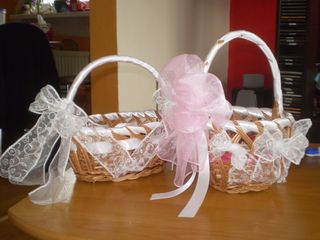 Tužba po dokonalosti - košíček pre dievčatka na lupienky...