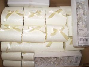 krabičky s rafaelom pre hostí