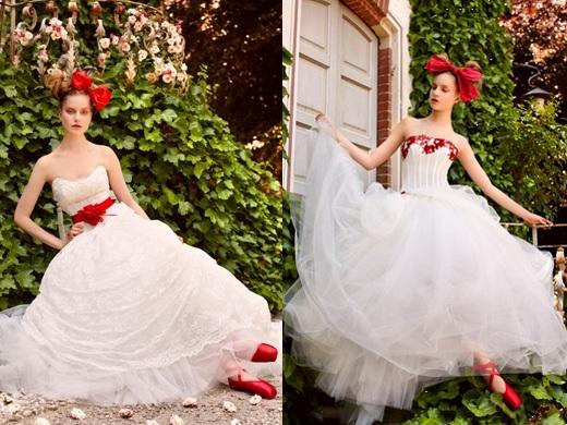 Krááásne červeno-biele šaty - Obrázok č. 48
