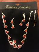 Set náušnice a náhrdelník ,