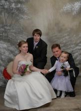 s naší dcerou a mým synem