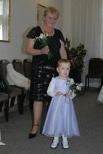naše dcera s babičkou