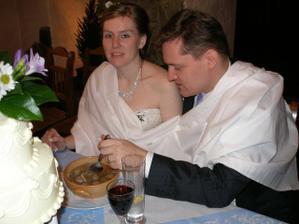 naše první novomanželská polévka