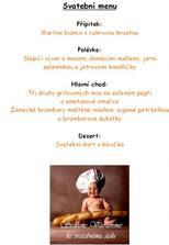 naše menu