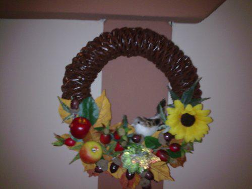 Moje výtvory... - tak toto je môj prvý výtvor...jesenný motív...