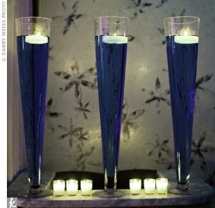 Sapphire - powder blue wedding - Tou barvenou vodou se asi inspiruju :)
