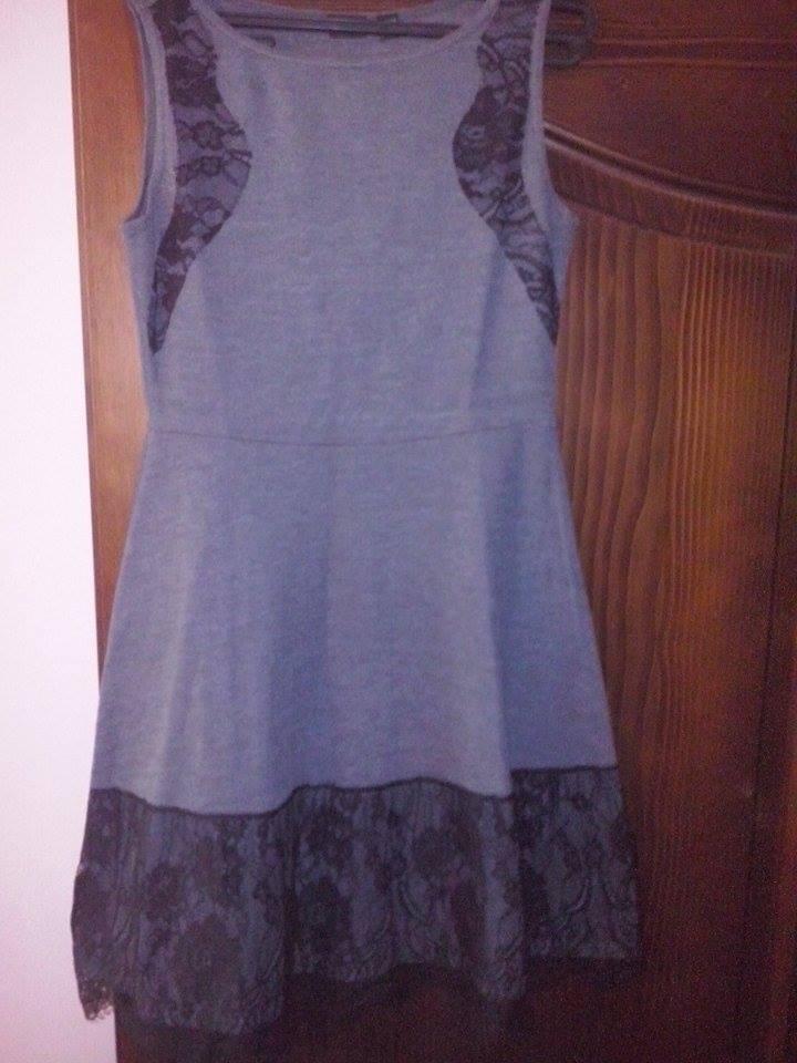Šedo-čierne šaty - Obrázok č. 2