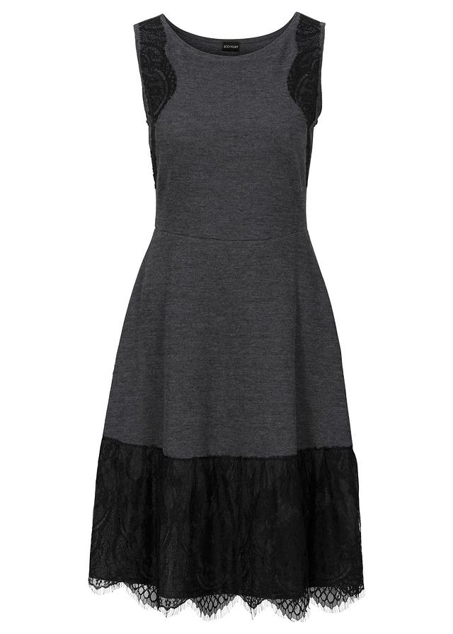 Šedo-čierne šaty - Obrázok č. 1