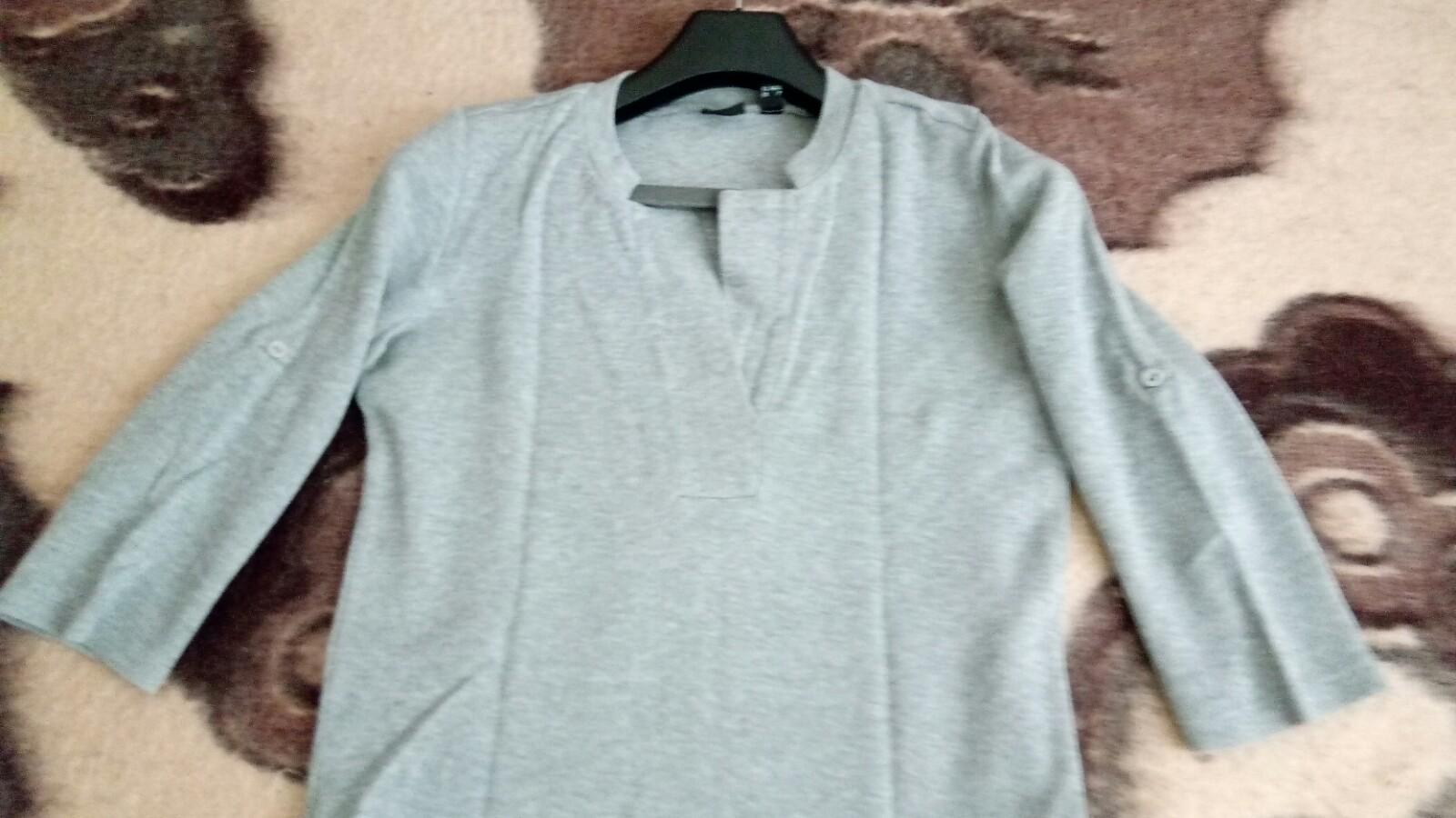 Bavlnené sivé šaty - Obrázok č. 3