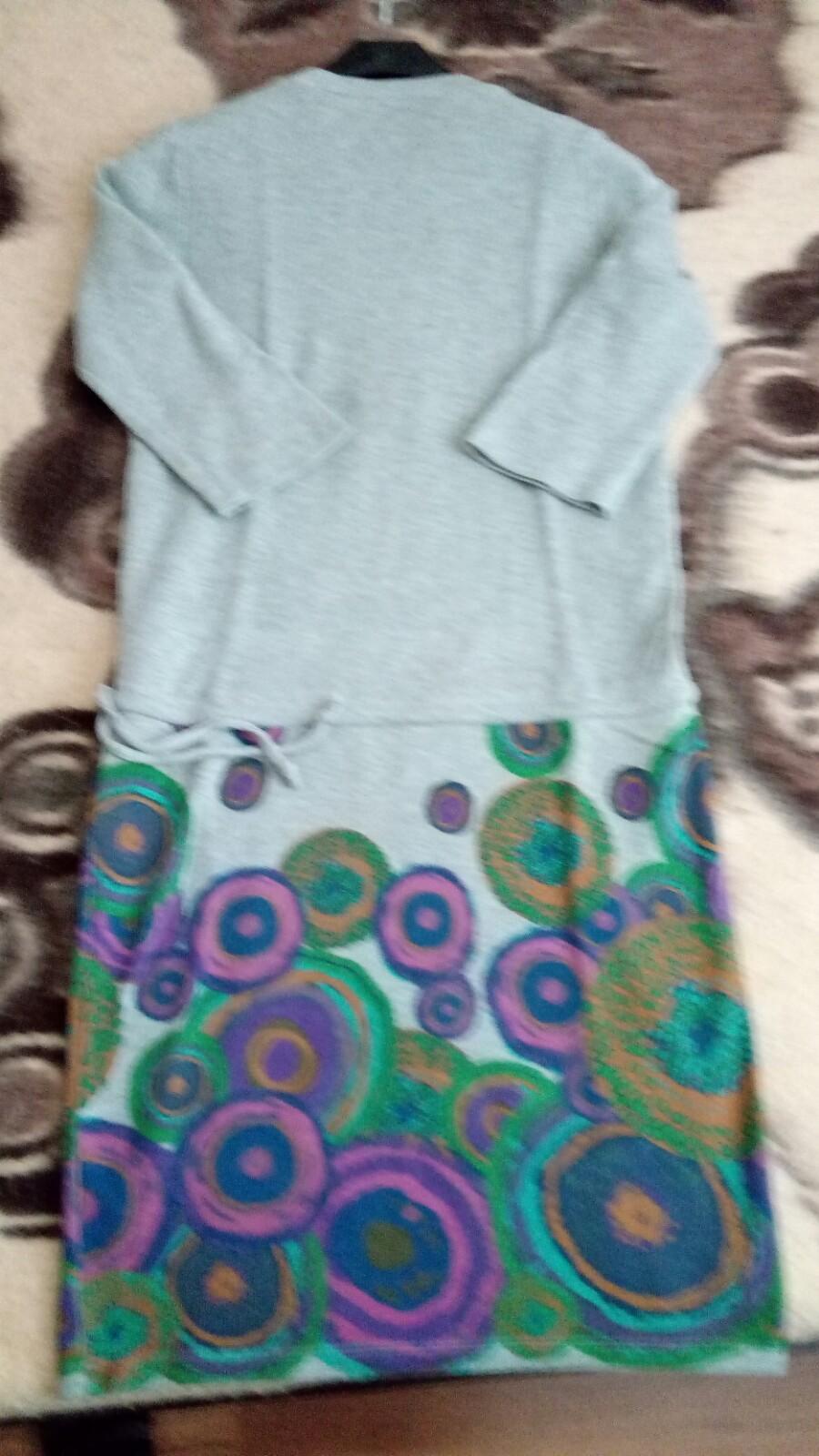 Bavlnené sivé šaty - Obrázok č. 4